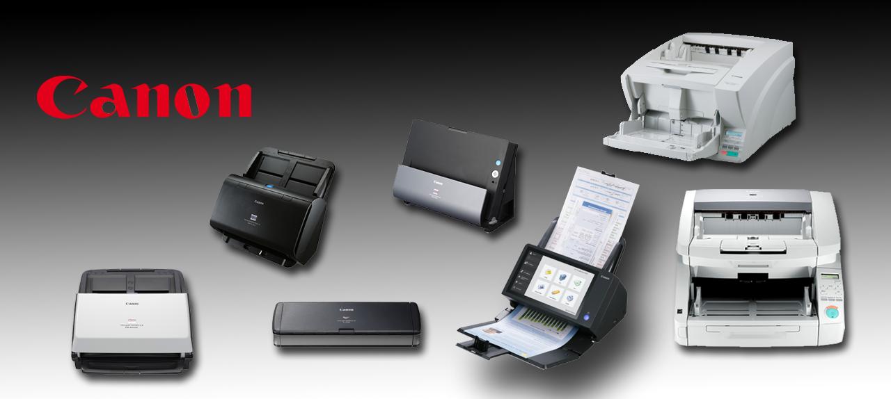 La gamme de scanner CANON